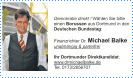 Visitenkarte, Ihr Dortmunder Direktkandidat